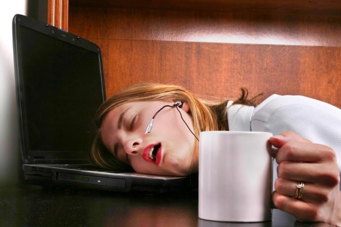 asleep at computer boring blog posts