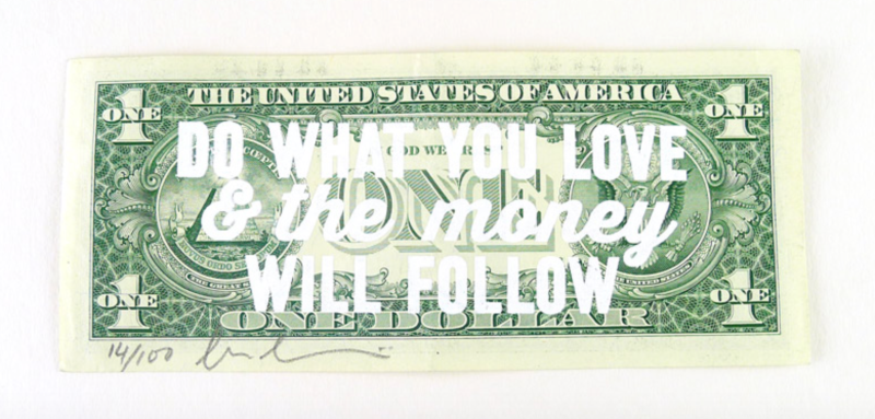 do what you love quote freelance advice